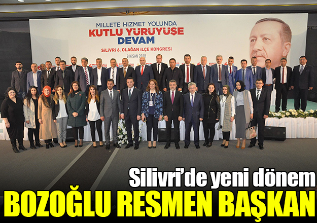 Mutlu Bozoğlu Ak Parti Silivri İlçe Başkanı oldu