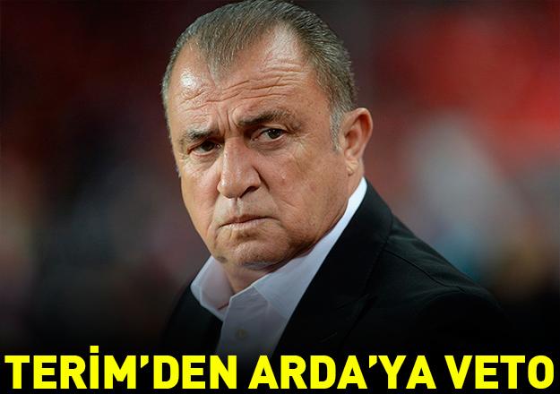 Terim'den Arda'ya veto!