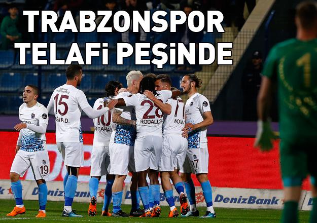 Trabzonspor telafi peşinde