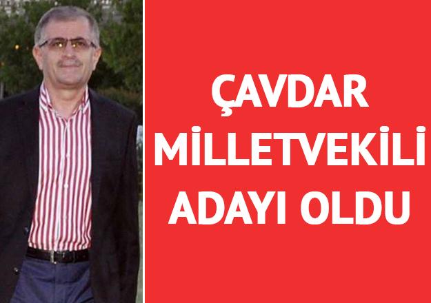 Yetgin Çavdar milletvekili adayı oldu