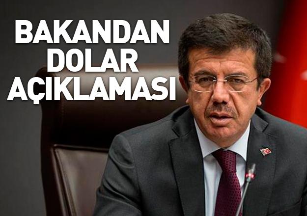 Zeybekci'den dolar açıklaması: İşinize bakın, önünüze bakın