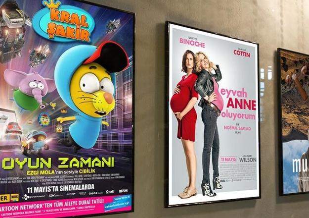 11 Mayıs Cuma günü 11 film vizyona girecek