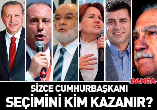24 Haziran Cumhurbaşkanı seçimini kim kazanır? Ankete katılın