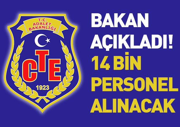 Adalet Bakanlığı 14 bin 611 personel alımı yapacak - Başvuru şartları ve tarihleri