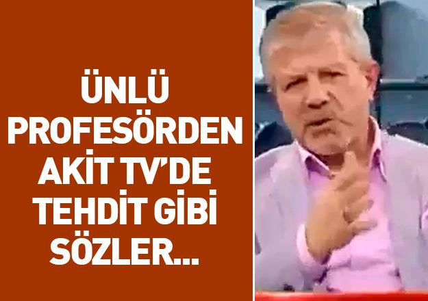 Ahmet Maranki'den AKİT TV'de tehdit gibi sözler