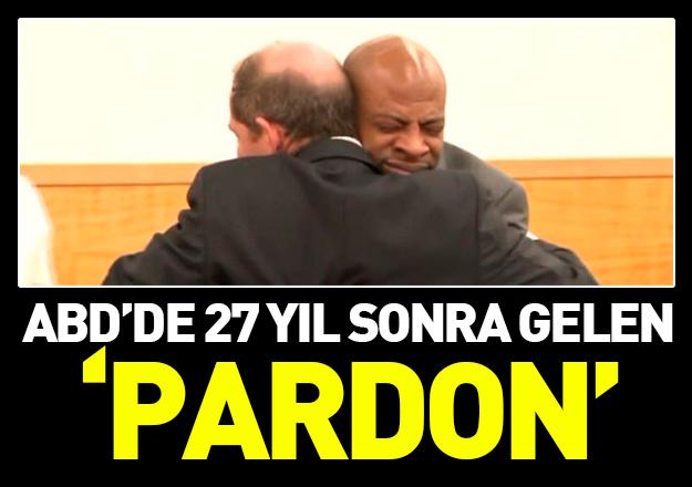 Amerika'da 27 yıl sonra gelen 'Pardon'