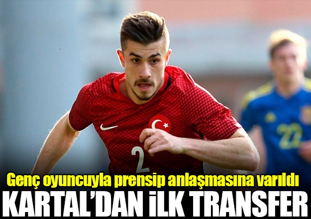 Beşiktaş'ın ilk transferi gerçekleşti