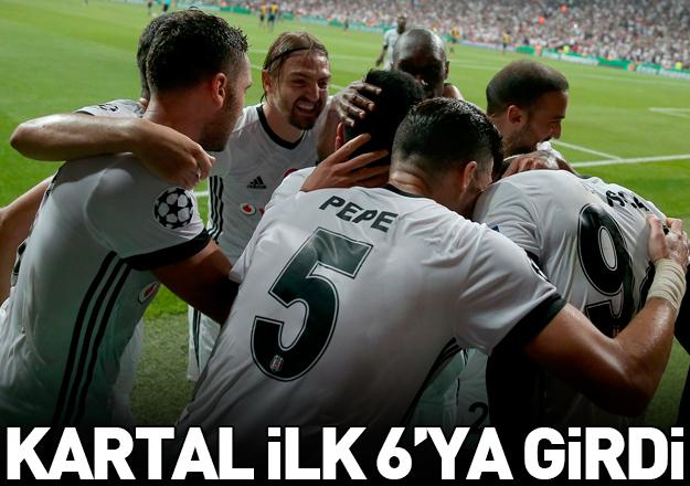 Beşiktaş ilk 6'da!