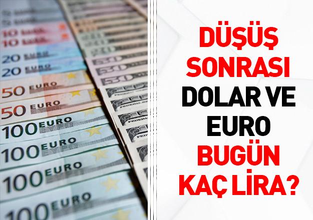 Dolar ve euro bugün kaç lira ile başlangıç yaptı? Son dakika alış ve satış fiyatları