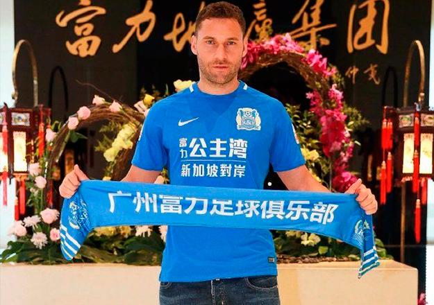 Dusko Tosic resmen Guangzhou R&F'de