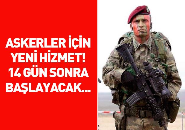 E-Devlet'ten asker adayları için yeni hizmet
