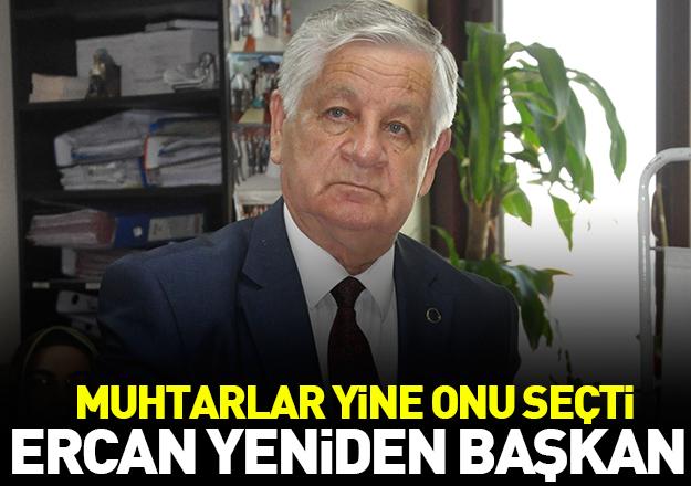 Ercan 21 oyla yeniden başkan
