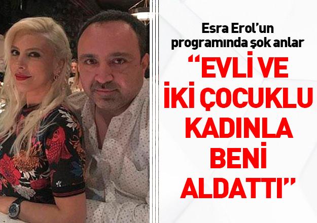 Esra Erol'un stüdyo şefine ihanet şoku! Eda Gök eşinden boşandı