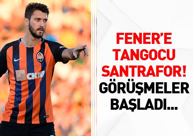 Fenerbahçe'ye tangocu santrafor