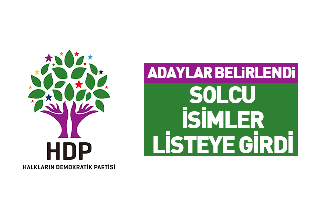 HDP'de solcu adaylar! HDP İstanbul milletvekili adayları listesi