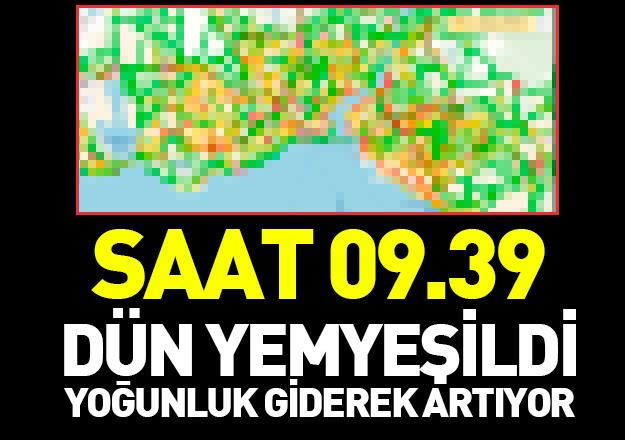 İşçi Bayramı sonrası İstanbul trafiğinde yoğunluk