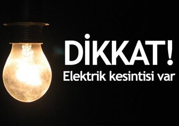 İstanbul 21 Mayıs Pazartesi kesintileri - Elektrik ne zaman gelecek?