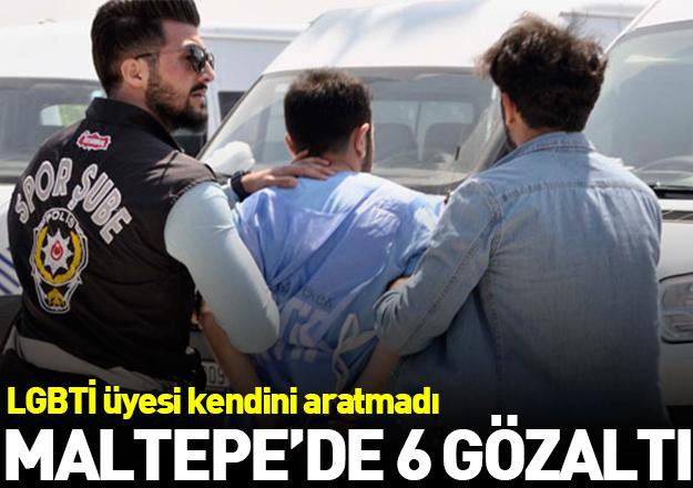 Kendini polise aratmayan LGBTİ üyesi ve arkadaşlarına Maltepe'de gözaltı