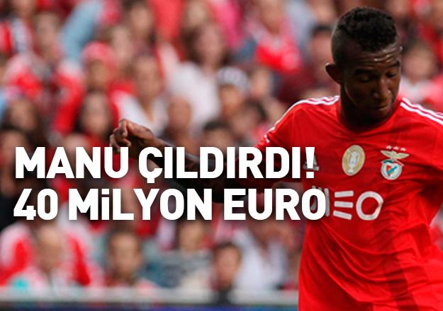Manchester United'dan Talisca'ya 212 milyon lira!