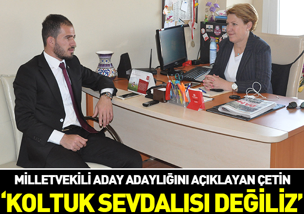 'Reisimizi Türkiye'nin ilk başkanı yapmak için adayım'
