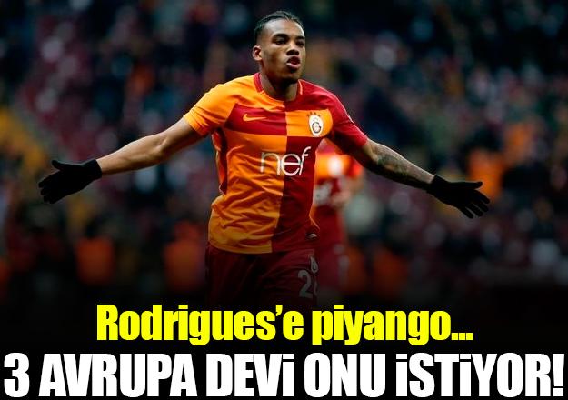 Rodrigues'e Avrupa piyangosu!