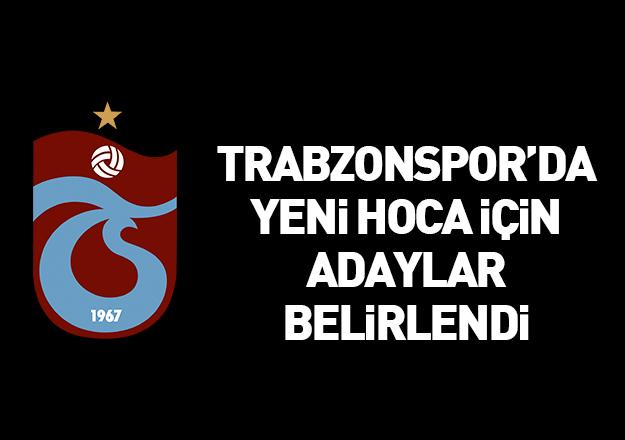 Trabzonspor'da teknik direktörlük görevine birden fazla aday