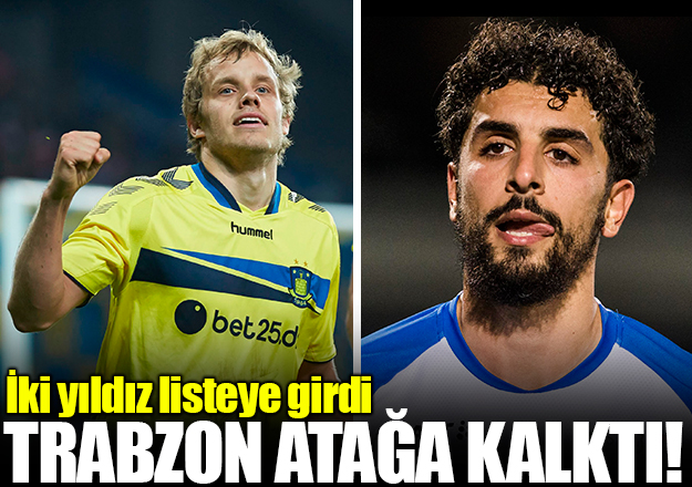 Trabzonspor'dan çifte transfer