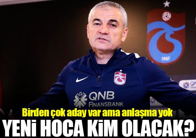 Trabzonspor'un yeni teknik direktörü kim olacak? Adaylar ve ihtimalleri