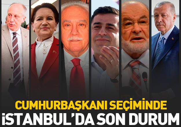24 Haziran İstanbul cumhurbaşkanı seçim sonuçları