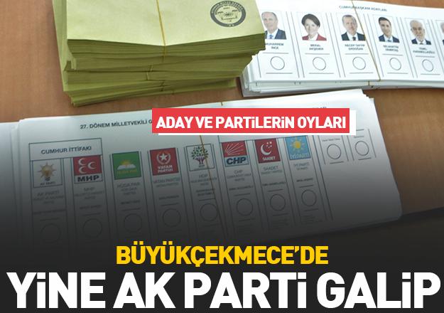 24 Haziran seçimleri Büyükçekmece sonuçları