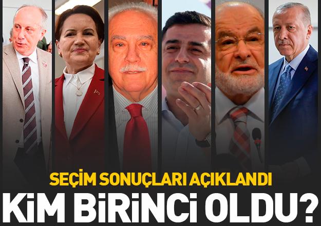 24 Haziran seçimleri için sandıklar açıldı! Yeni cumhurbaşkanı kim olacak