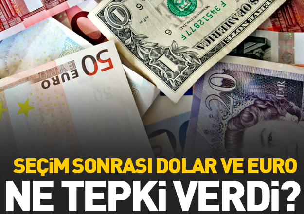 24 Haziran seçimleri sonrası döviz nasıl tepki verdi? 25 Haziran dolar ve euro fiyatları
