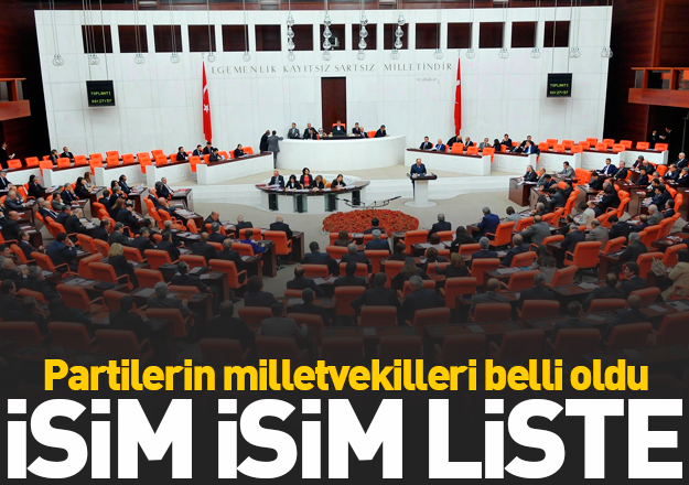 27. Dönem Milletvekili isim listesi - Hangi partinin kaç milletvekili var