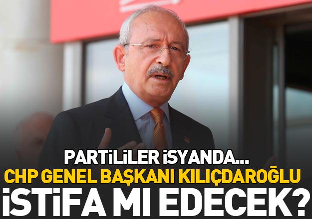 CHP Genel Başkanı Kemal Kılıçdaroğlu istifa mı edecek? Gözler parti toplantısında