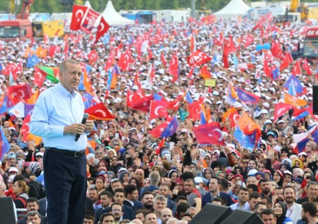 Cumhurbaşkanı Erdoğan Esenyurt'ta