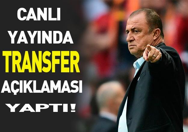 Fatih Terim yeni sezon öncesi konuştu!