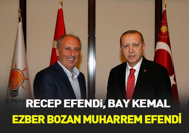 Recep Efendi, Bay Kemal ve ezber bozan Muharrem efendi