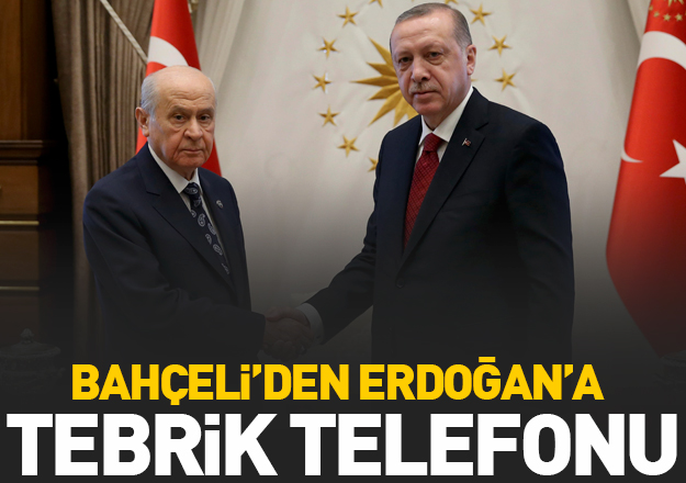 Son dakika... Bahçeli'den Erdoğan'a tebrik telefonu