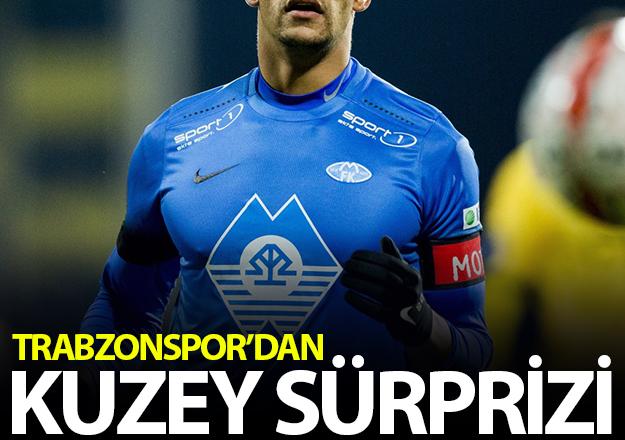 Trabzonspor'da kuzey sürprizi!