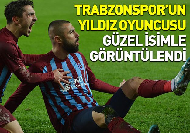 Trabzonspor'un yıldızı Hande Doğandemir ile görüntülendi