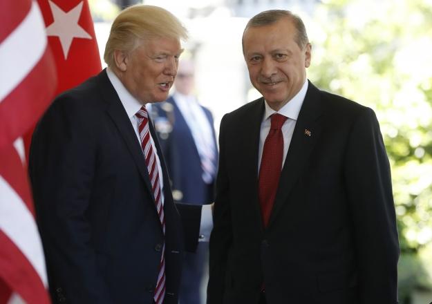 Trump Erdoğan'ı aradı
