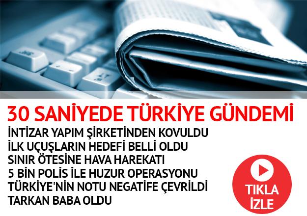 30 saniyede Türkiye gündemi - 14.07.2018