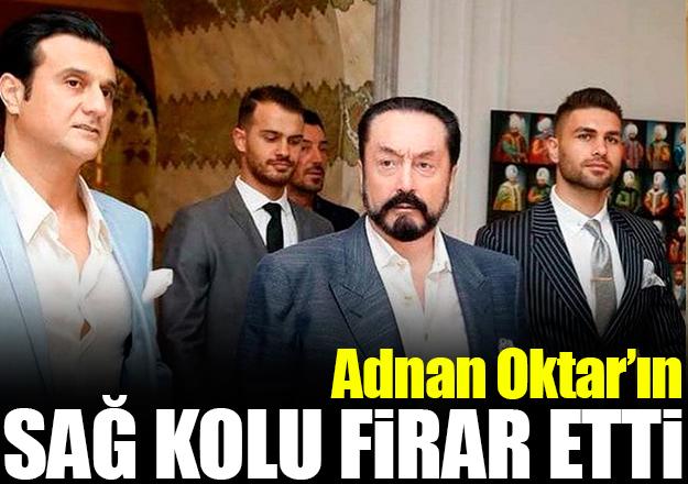 Adnan Oktar'ın sağ kolu Tarkan Yavaş kaçtı!