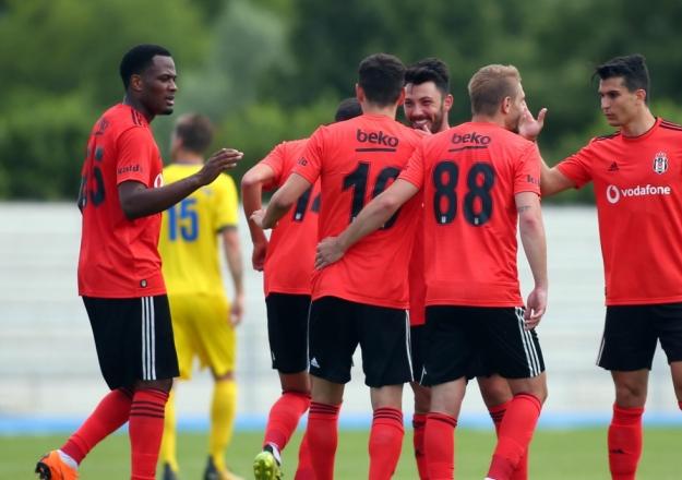 Beşiktaş sahaya çıkıyor