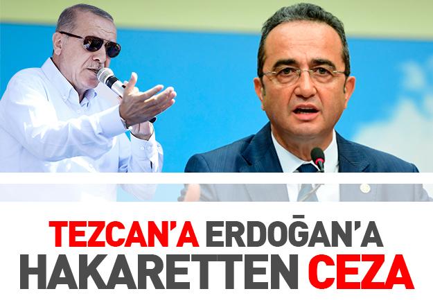 CHP'li Bülent Tezcan'a 30 bin liralık 'faşist diktatör' cezası