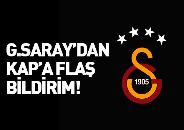 Galatasaray'da ayrılık resmileşti!