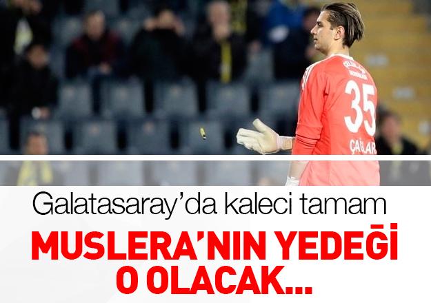 Galatasaray'ın kalecisi Çağlar