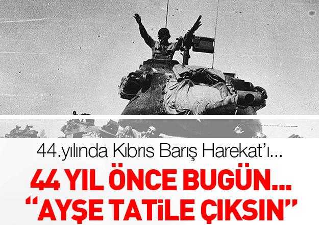 Kıbrıs Barış Harekatı'nın 44.yıl dönümü