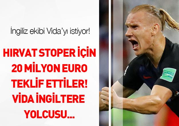 Liverpool Vida için fiyat yükseltti!