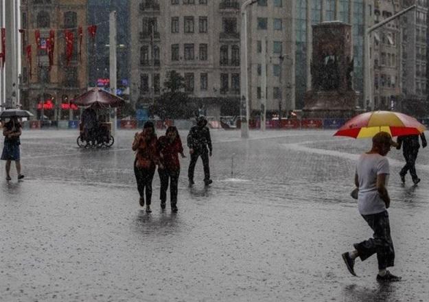 Meteoroloji'den İstanbul için yağmur uyarısı! Ne zaman yağmur yağacak